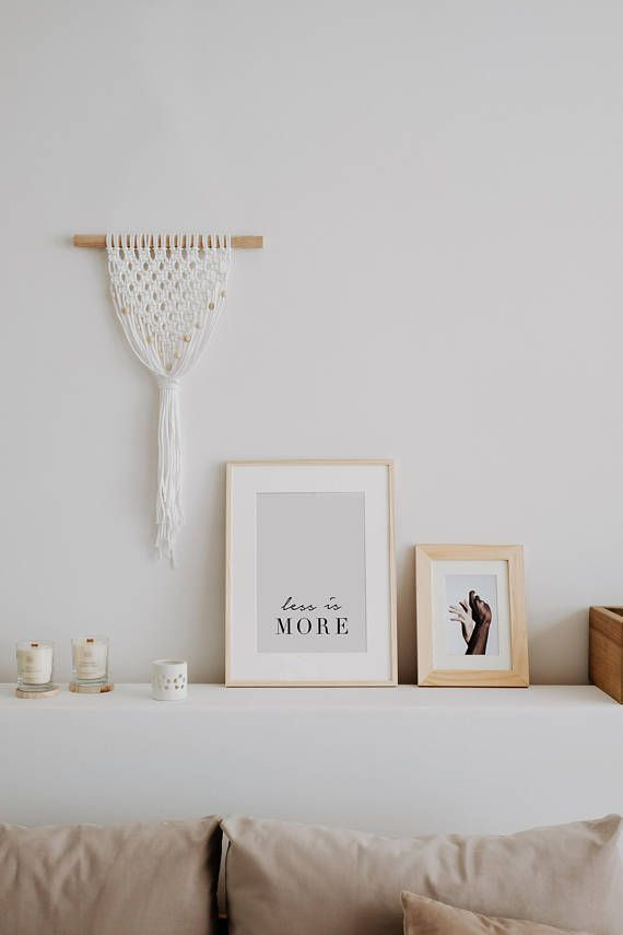 Image result for scandinavian decor with macrame