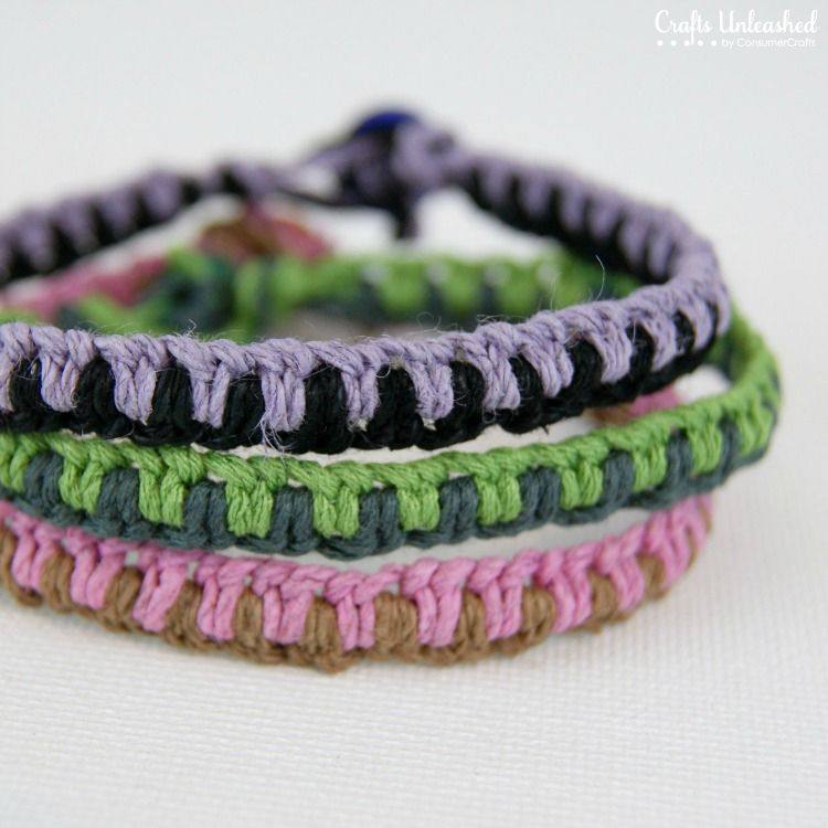 Vong tay macrame